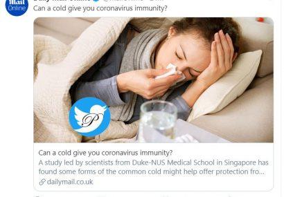 سرما خوردگی دشمن کوید۱۹
