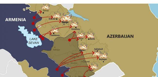 جنگ آذربایجان و ارمنستان دامنه دار شد.