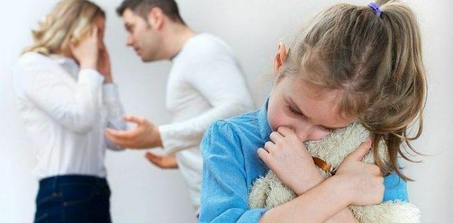 ♦️دعوای والدین سبب کاهش رشد مغز کودکان می شود‼️