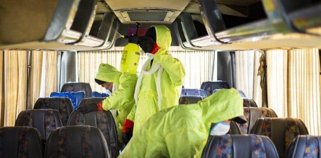 کرونا همچنان مسافر اتوبوس های بین شهری!