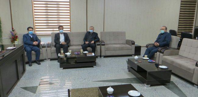 حضور فرماندار تکاب در جلسه بررسی وضعیت محورهای مواصلاتی تکاب و شاهیندژ