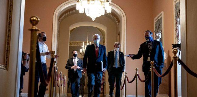 🔸 رهبر جمهوریخواهان، سنا ریاست جمهوری بایدن را به رسمیت شناخت