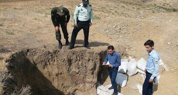 دستگیری ۲۳ حفار در ۶ ماه فقط در تهران