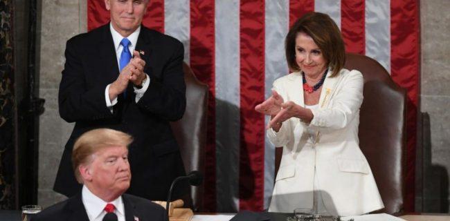 🔸 نانسی پلوسی خواستار کنارهگیری ترامپ شد