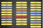 وضعیت رنگ بندی مراکز استانها از امروز شنبه