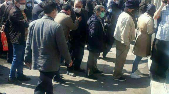 تبریز/ایستاده در صف…