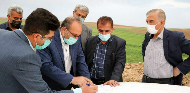 بازید مدیر کل راهداری استان آذربایجان غربی از طرح های جاده ای ابرار تکاب