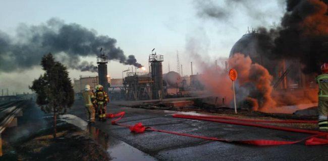 🔸 خطر انفجارهای مهیب در پالایشگاه تهران وجود داشت