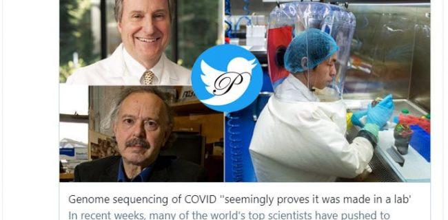 کشف ژنوم نادری که نشان میدهد کووید ۱۹ ساخت چین است